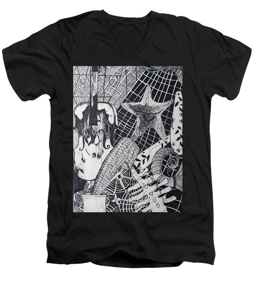 The Experiment Men's V-Neck T-Shirt