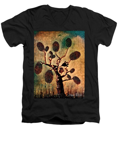 The Fingerprints Of Time Men's V-Neck T-Shirt