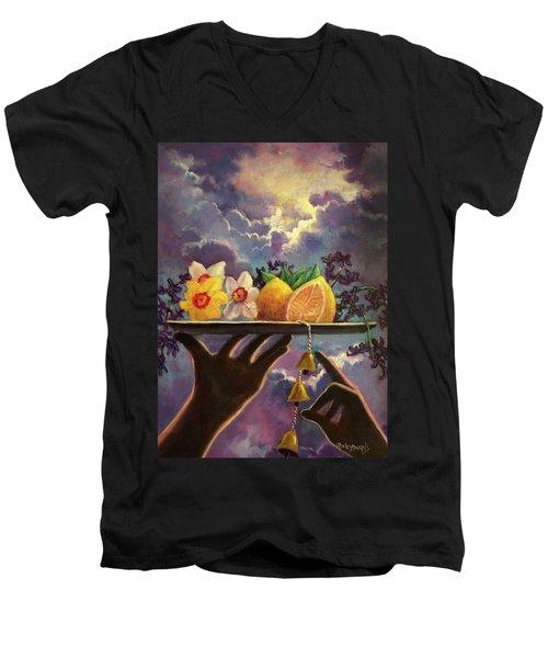 The Five Senses Men's V-Neck T-Shirt