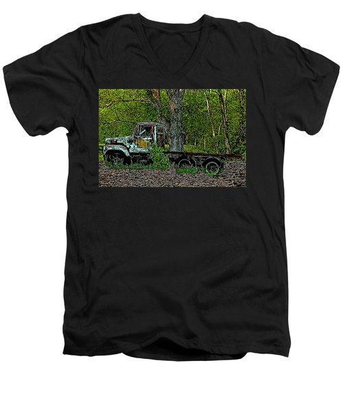 The Forgotten Men's V-Neck T-Shirt