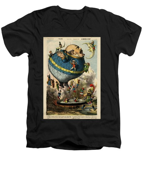 The Frying Pan Of War Men's V-Neck T-Shirt