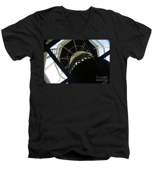 The Ghost Within Men's V-Neck T-Shirt by Linda Shafer