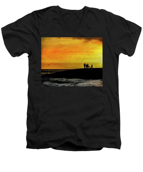 The Golden Hour II Men's V-Neck T-Shirt