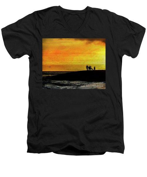The Golden Hour II Men's V-Neck T-Shirt