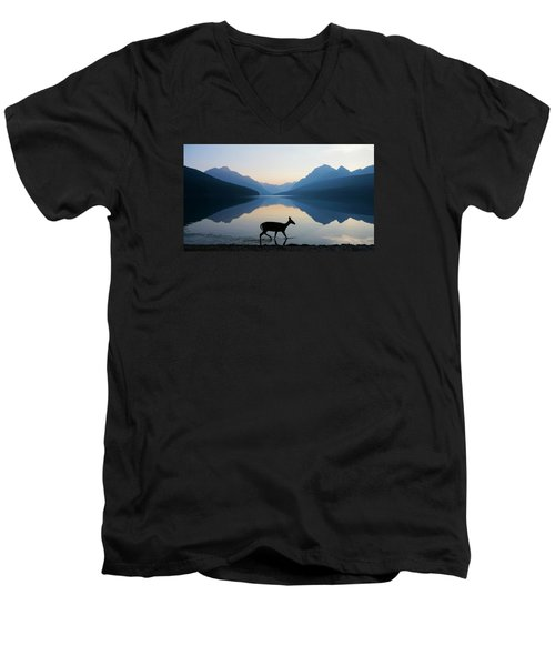 The Grace Of Wild Things Men's V-Neck T-Shirt by Dustin  LeFevre