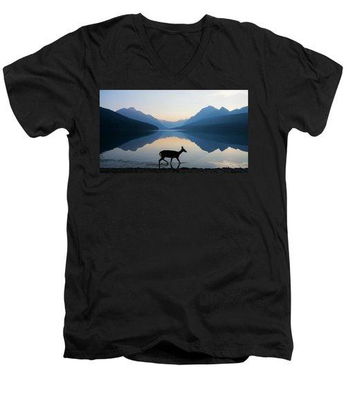The Grace Of Wild Things Men's V-Neck T-Shirt