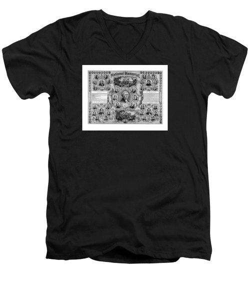 The Great National Memorial Men's V-Neck T-Shirt