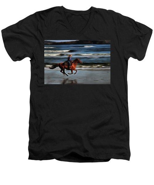 The  Greatest Of Pleasures Men's V-Neck T-Shirt