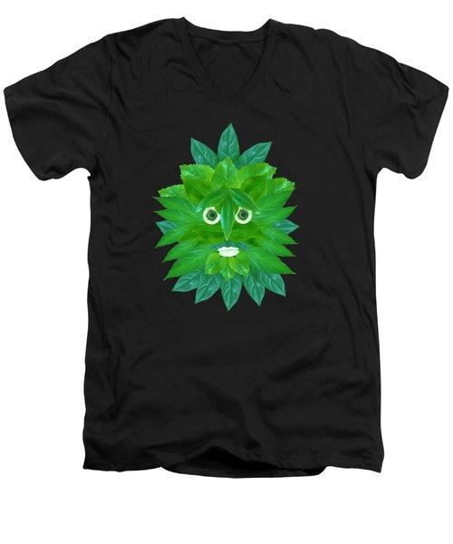 The Green Man Men's V-Neck T-Shirt