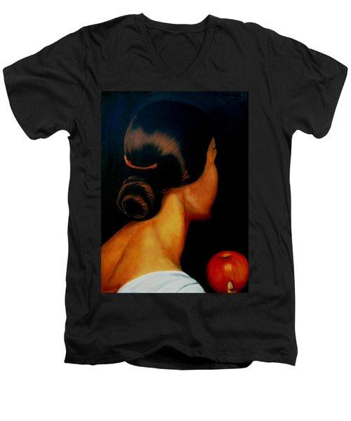 The Hair   Men's V-Neck T-Shirt
