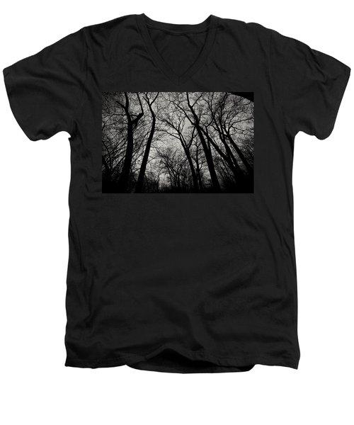 The Haunt Of Winter Men's V-Neck T-Shirt