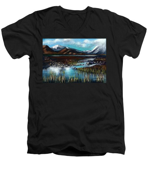 The Highlands - Scotland Men's V-Neck T-Shirt