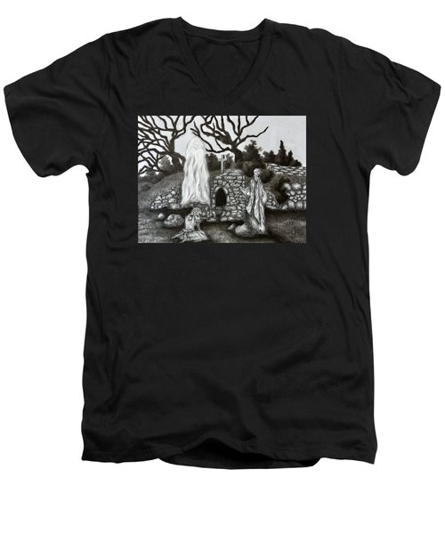 The Holy Well Men's V-Neck T-Shirt