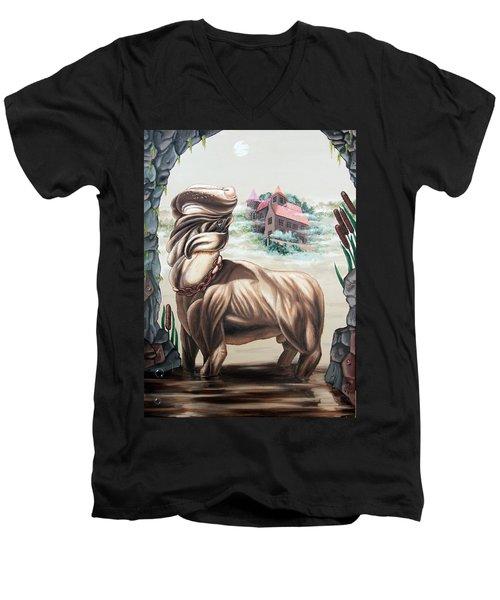 The Hound Of The Baskervilles Men's V-Neck T-Shirt