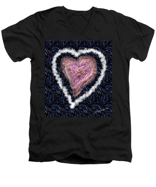 The Imperfection Of A Perfect Love Men's V-Neck T-Shirt