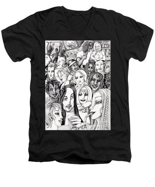 The In Crowd Men's V-Neck T-Shirt