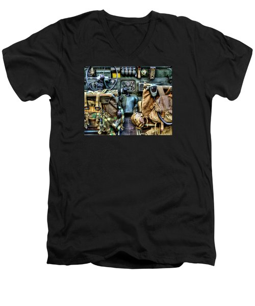 The Jeep 046 Men's V-Neck T-Shirt