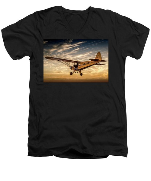 The Joy Of Flight Men's V-Neck T-Shirt