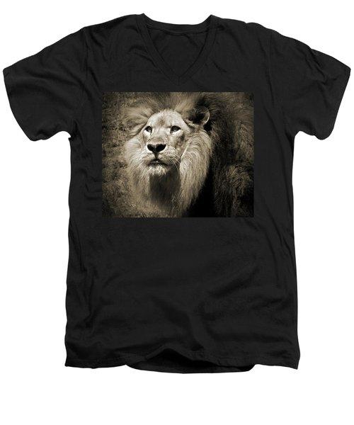 The King II Men's V-Neck T-Shirt