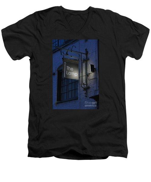 The Lamp Men's V-Neck T-Shirt