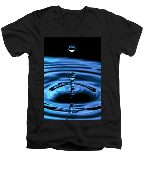 The Last Drop Men's V-Neck T-Shirt by Marlo Horne