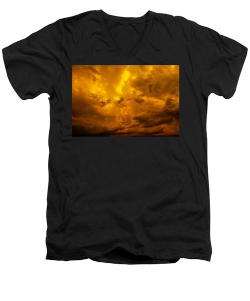 The Last Glow Of The Day 008 Men's V-Neck T-Shirt