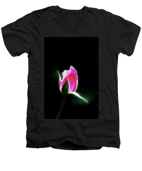 The Light Of Heaven Shining Down Men's V-Neck T-Shirt