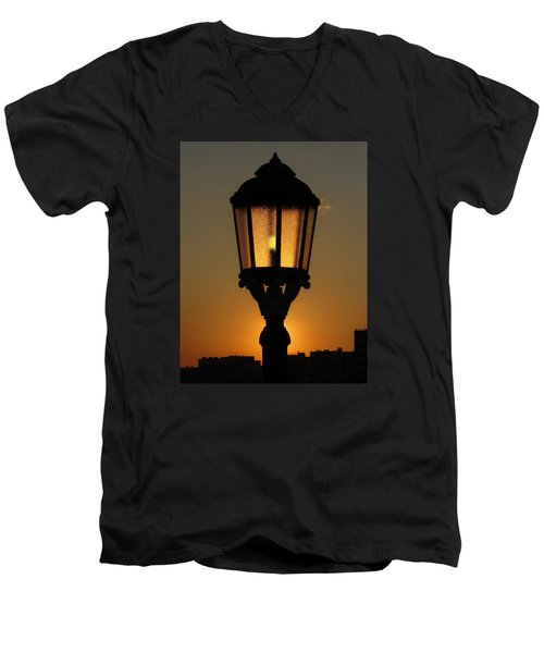 The Light Within Men's V-Neck T-Shirt by John Topman