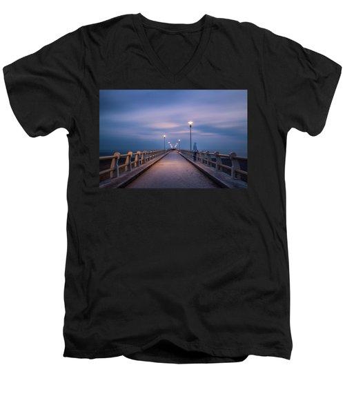 The Lonely Girl Men's V-Neck T-Shirt