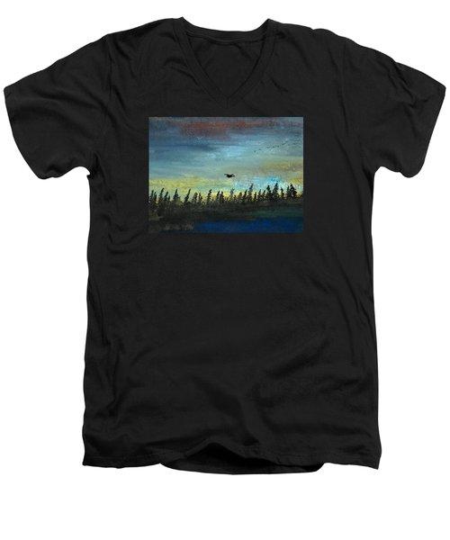 The Loner Men's V-Neck T-Shirt