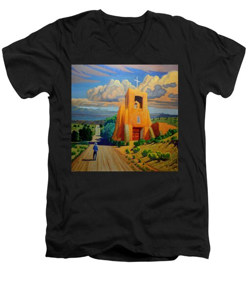 The Long Road To Santa Fe Men's V-Neck T-Shirt