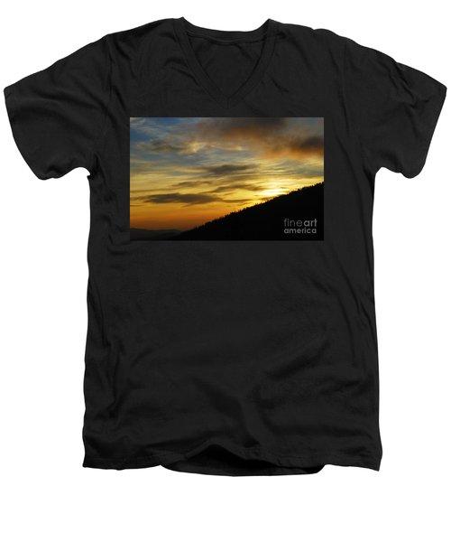 The Loud Music Of The Sky Men's V-Neck T-Shirt