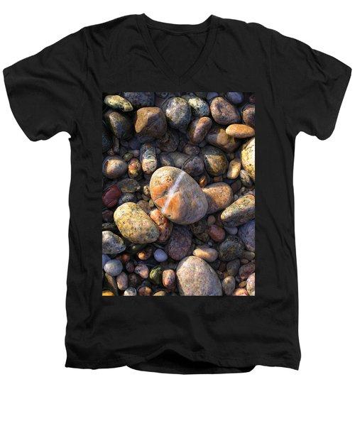 The Lucky Rock Men's V-Neck T-Shirt
