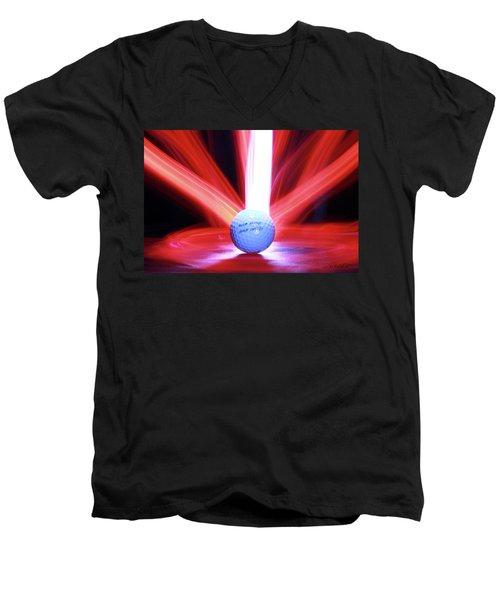 The Lust Men's V-Neck T-Shirt by Andrew Nourse