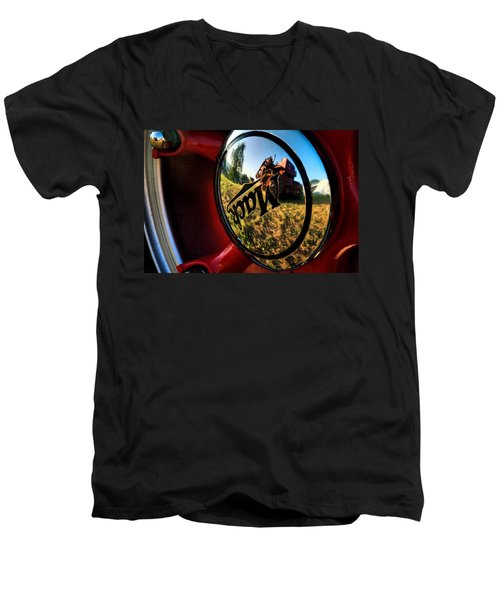 The Mack Truck Men's V-Neck T-Shirt