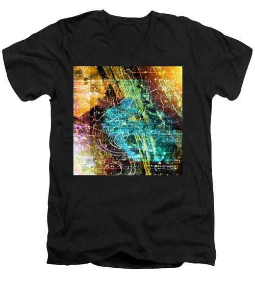 The Magic Key. Men's V-Neck T-Shirt
