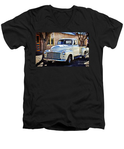 The Magic Of The 1949 Gmc 100 Men's V-Neck T-Shirt