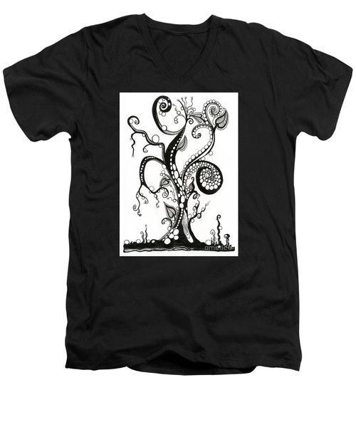 The Magic Tree Men's V-Neck T-Shirt