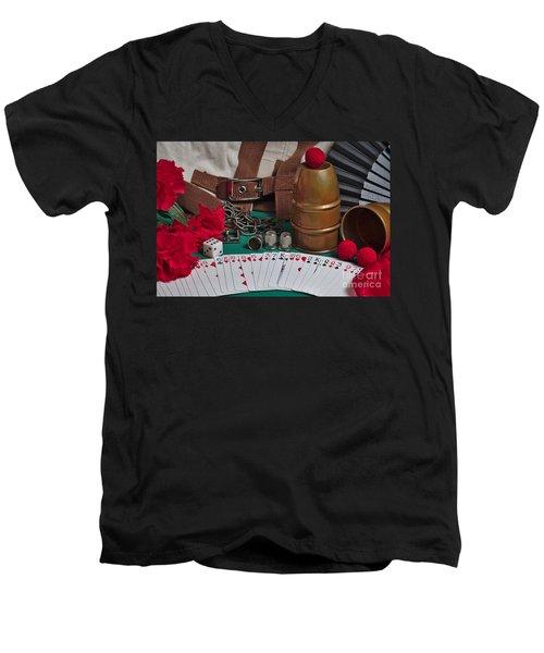The Magician's Retreat Men's V-Neck T-Shirt