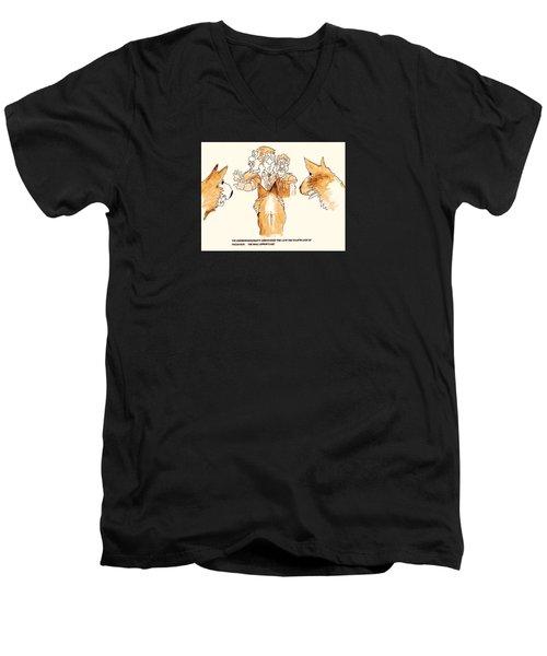 The Mall Opportune Men's V-Neck T-Shirt