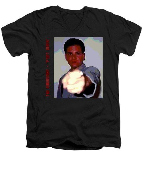 The Marksman - Point Blank Men's V-Neck T-Shirt