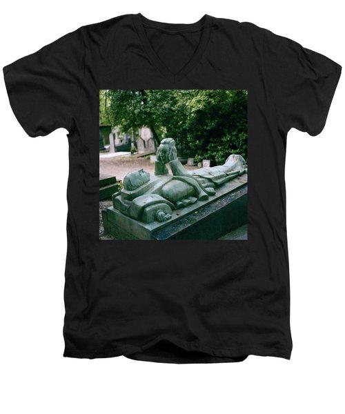 The Mask Of Meditation Men's V-Neck T-Shirt