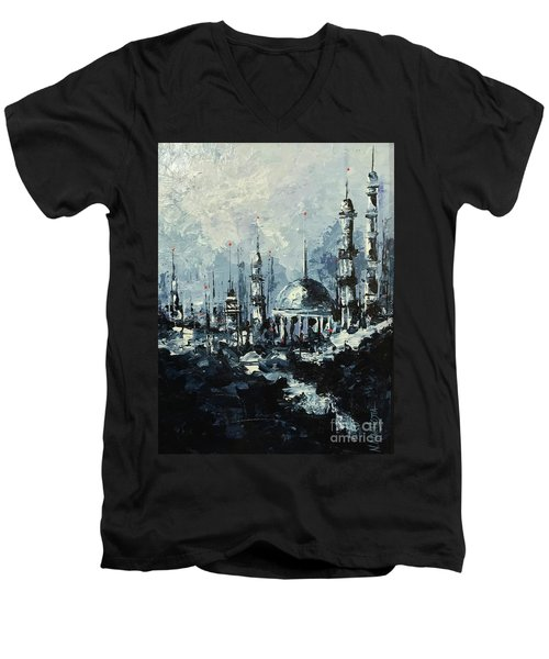 The Mosque Men's V-Neck T-Shirt