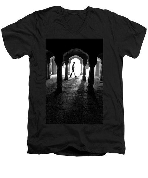 The Mystery Man Men's V-Neck T-Shirt