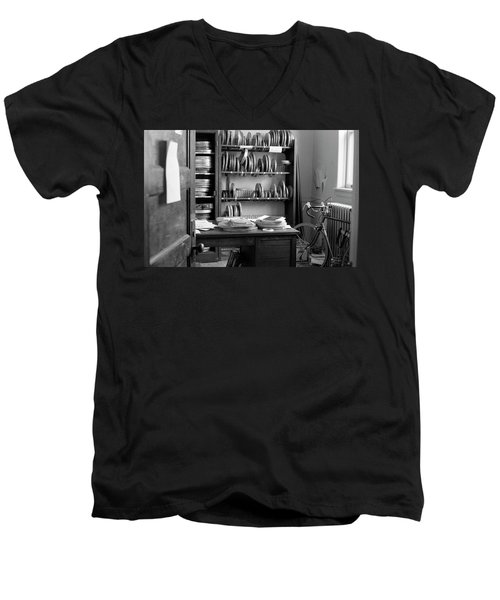 The Office Of A Teaching Assistant, 1979 Men's V-Neck T-Shirt