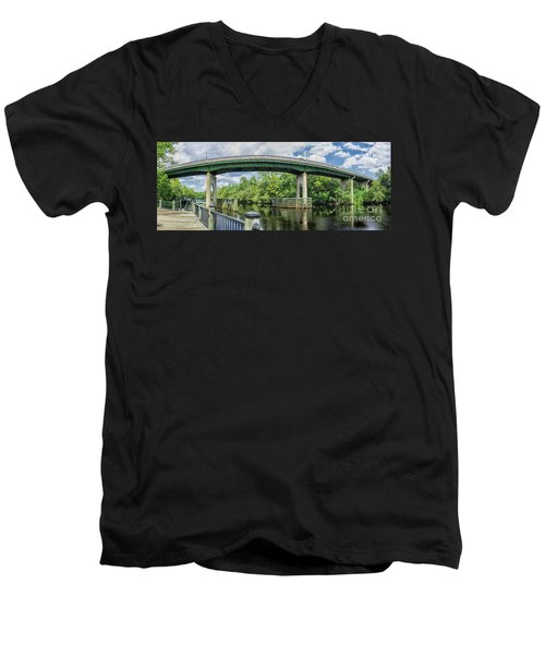 The Old Conway Bridge Men's V-Neck T-Shirt