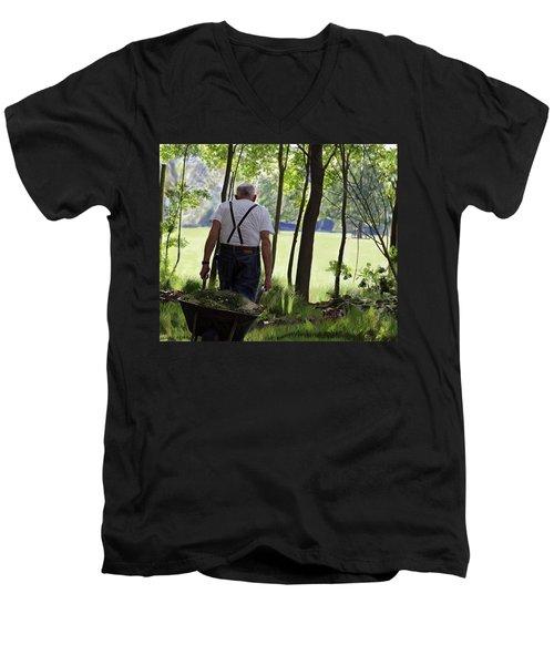 The Old Gardener Men's V-Neck T-Shirt