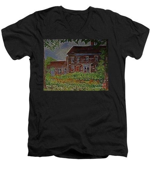 The Old Homestead Men's V-Neck T-Shirt