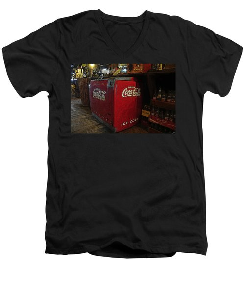 The Old Store Men's V-Neck T-Shirt by David Lee Thompson