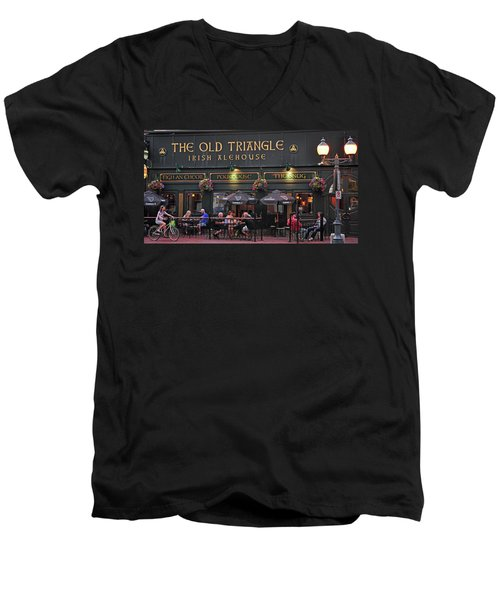 The Old Triangle Alehouse Men's V-Neck T-Shirt